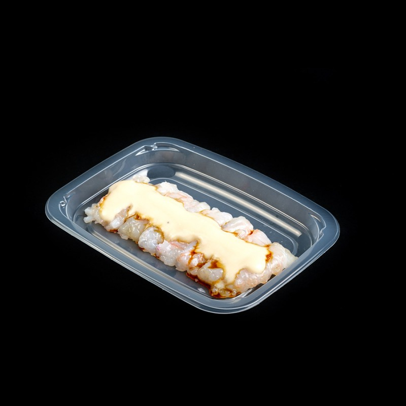 Scampi crudi, emulsione di Poverello bianco e miele di fichi