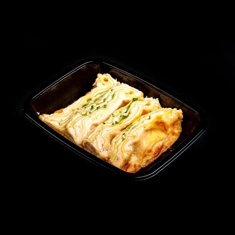 Lasagna salmone e zucchine