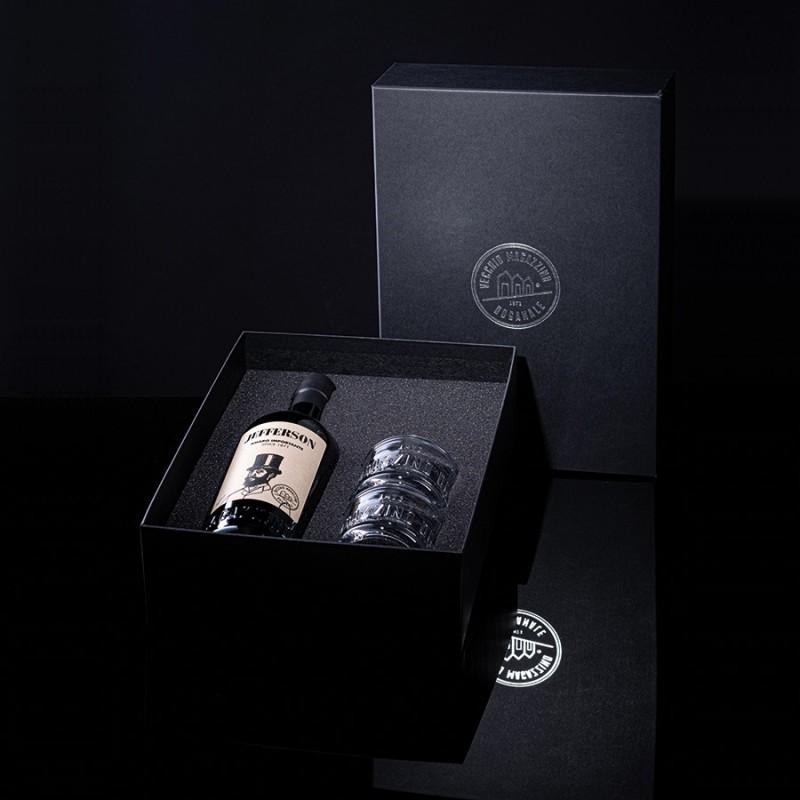 Tailor Made / Jefferson - Amaro Importante e bicchieri Equilibrio